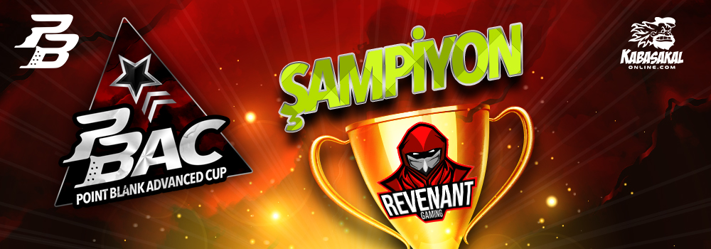 Point Blank Advanced Cup Şampiyonu REVENANT